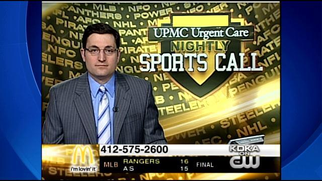 UPMC Urgent Care Nightly Sports Call: Mar. 15, 2014 (Pt. 2)