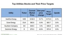A Look at the Top Utilities and Their Price Targets
