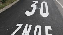 Peinlicher Buchstabendreher in Pforzheim: Die 30er-ZNOE