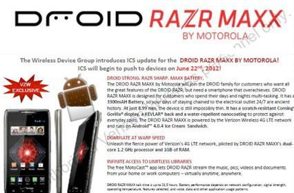 Droid RAZR and RAZR Maxx Android 4.0 update incoming: roll-out starts June 22 (update: confirmed)