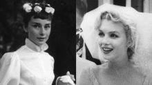 瑪麗蓮夢露、Audrey Hepburn...25個歷史上最具標誌性的新娘、婚紗造型