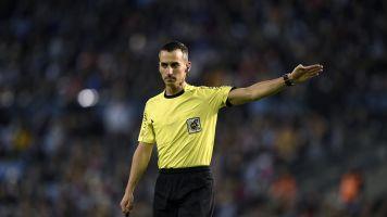 ¿Quién es Santiago Jaime Latre, árbitro del Atlético - Barcelona de LaLiga?