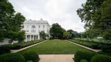 Melania Trump Unveils the Renovated White House Rose Garden