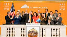 Cloudflare's IPO debuts with a double-digit jump