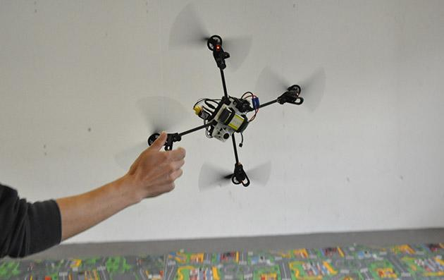 New technology keeps drones from crashing and burning