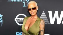 Amber Rose Says She Wants a Breast Reduction, Asks Fans For Advice on Instagram: 'My Boobs Are Stupid Heavy'