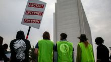 U.S. defends FCC's repeal of net neutrality rules
