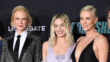 Margot Robbie, Nicole Kidman and Charlize Theron dazzle at Bombshell screening