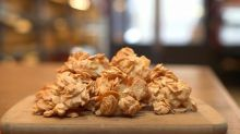 How to make almond crunch for Passover