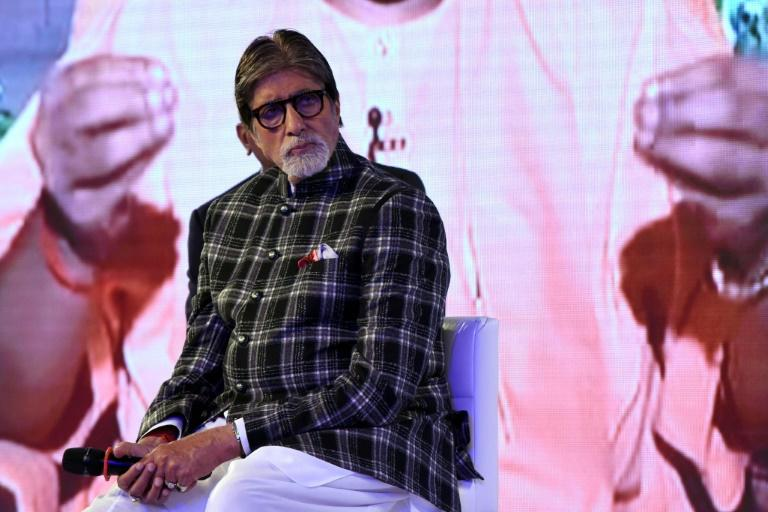 Amitabh Bachchan, affectionately known as 'Big B', was discharged from hospital three weeks after being admitted with 'mild' coronavirus symptoms after testing positive (AFP Photo/Sujit Jaiswal)
