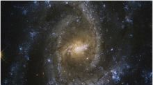 Eye of the Serpent: NASA Releases Spectacular New Images of a Galaxy That Create Optical Illusion