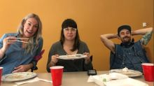 Edmonton AM busts a gut with sushi-eating showdown