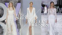 秋季結婚的新娘不用多想,就以長袖婚紗打造出屬於自己的專屬風格!