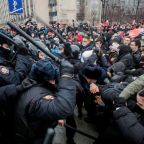 After mass arrests at protests, Moscow jail space in short supply