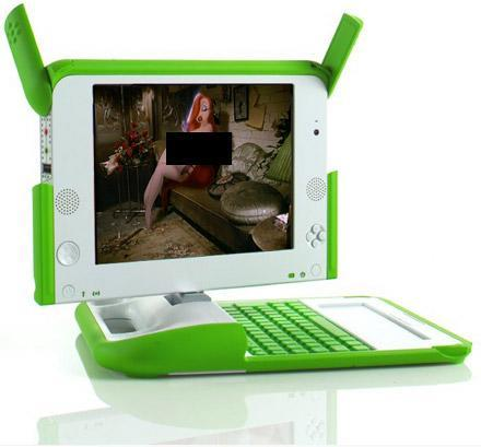 Reuters shocked that OLPC testers using XO for XXX