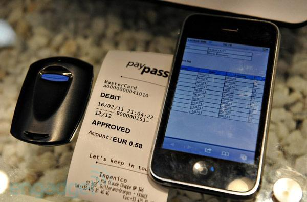 Morpho's NFC / WiFi-enabled keyfob brings wireless payments, card management to the everyman (video)