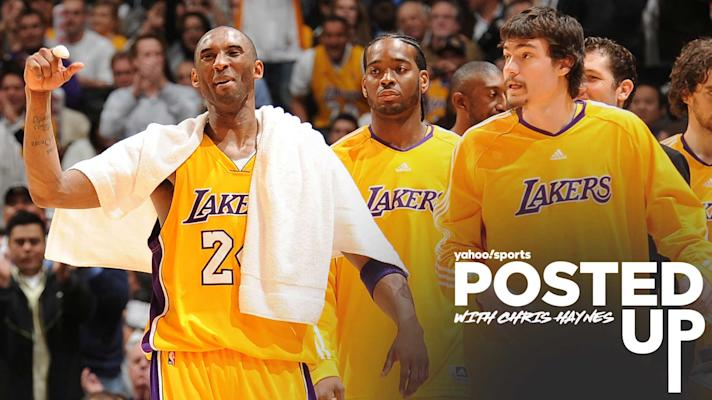 Posted Up - Adam Morrison on Kobe Bryant: 'He was a self-made player'
