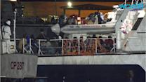 Italian and French Ships Rescue at Least 3,700 Migrants in Mediterranean