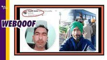 Farmer Protest: Muslim Man's Pic Falsely Viral as 'Disguised Sikh'