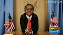'Kid President,' YouTube Star Visits 'GMA Live'
