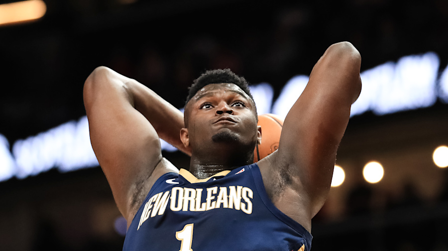 Zion won't take flight for Dunk Contest