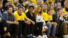 Beyonce and Jay-Z Enjoy Date Night Courtside at the Golden State Warriors Game: Pic!