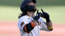 Giants power past Padres for key win in doubleheader Game 1