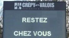 La commune de Crépy-en-Valois, premier cluster français, est en confinement depuis cinq semaines