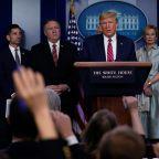 Polls: Majority of Americans disapprove of Trump's handling of the coronavirus outbreak, trust Fauci