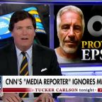 CNN's media reporter doesn't cover ABC, CBS Epstein story