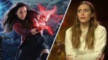 'Avengers: Infinity War' star Elizabeth Olsen was 'not comfortable' shooting 'Age of Ultron' (exclusive)