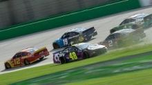 Restart retribution? Johnson, Keselowski debate late-race contact at Kentucky