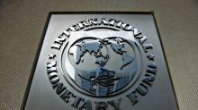 Tabla de las nuevas proyecciones económicas del FMI