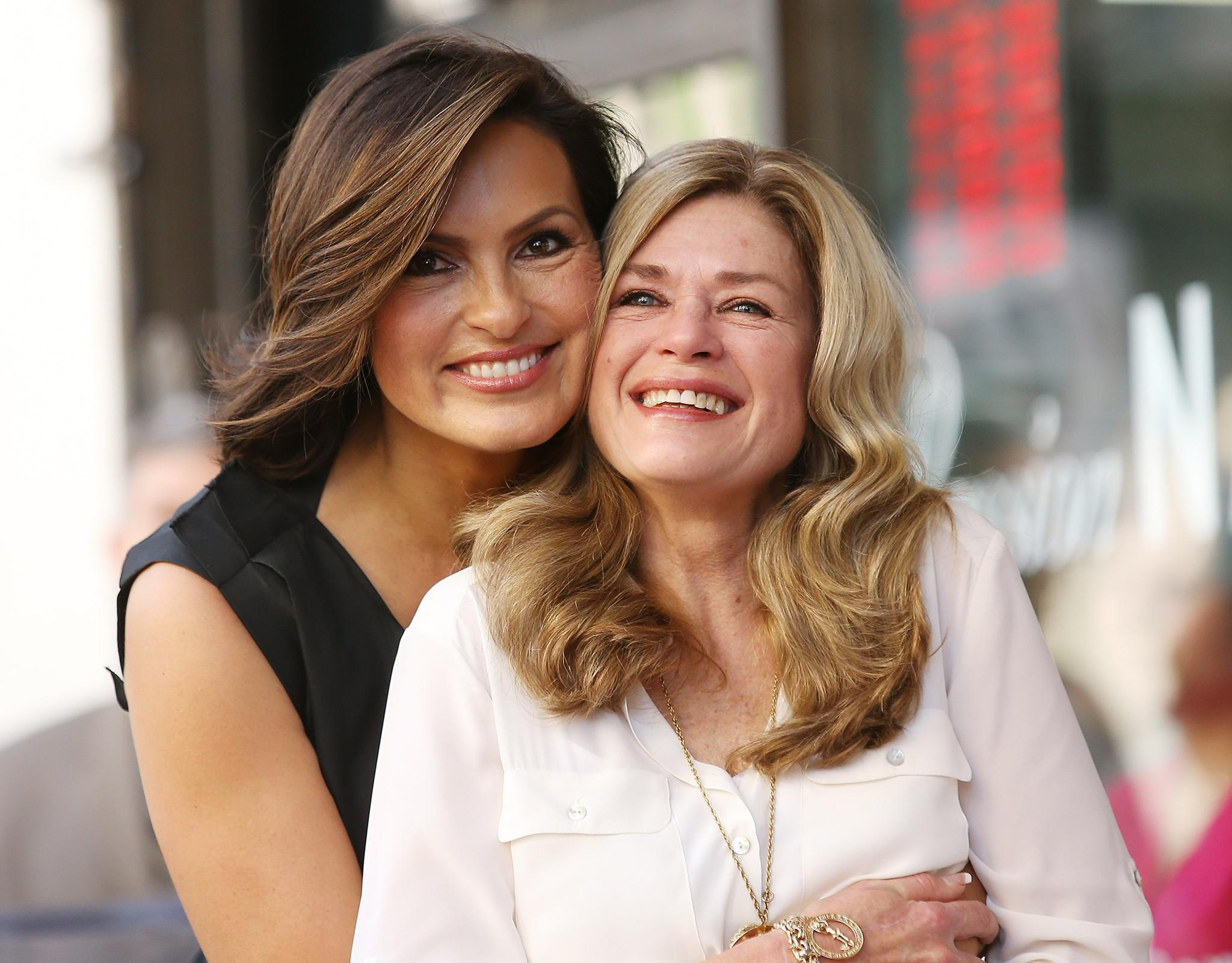 Mariska Hargitay Joined by Rarely-Seen Half-Sister for ...