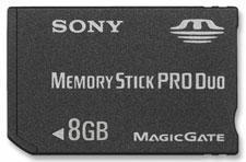 8GB PSP Memory Stick priced at $300