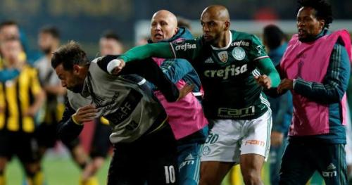 Foot - Libertadores - Violente bagarre entre Penarol et Palmeiras en Copa Libertadores