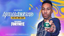 Galaxy Racer partner Arsenal star Aubameyang to host Fortnite tourney
