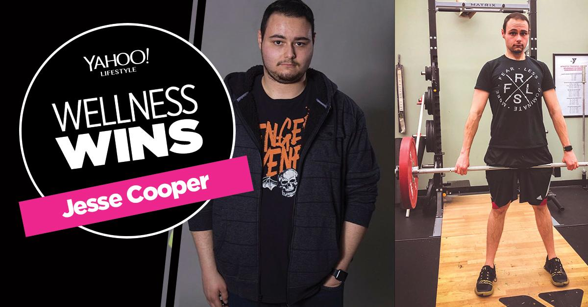After feeling 'disgusted' with his weight, Jesse Cooper decided to change his life — and lost 139 pounds