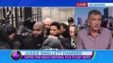 American actor Jussie Smollett charged