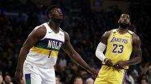 LeBron's 40 bests Zion, sends Lakers past Pelicans 118-109
