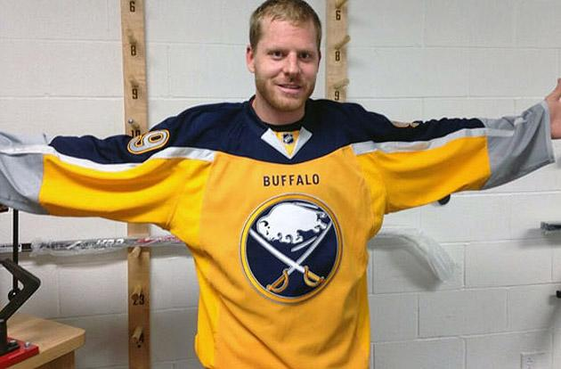 sports shoes 4470a 3a2a1 Buffalo Sabres reveal perhaps the NHL's worst jersey: Pass ...
