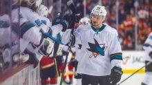 Kevin Labanc scores bizarre goal to send Sharks-Golden Knights to OT