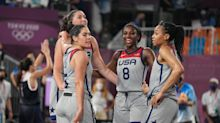 US women's 3-on-3 basketball team makes history with gold medal in sport's Olympic debut