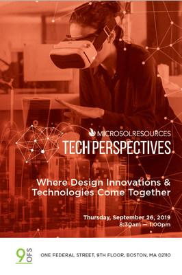 Microsol Resources Hosts TECH Perspectives | Boston 2019