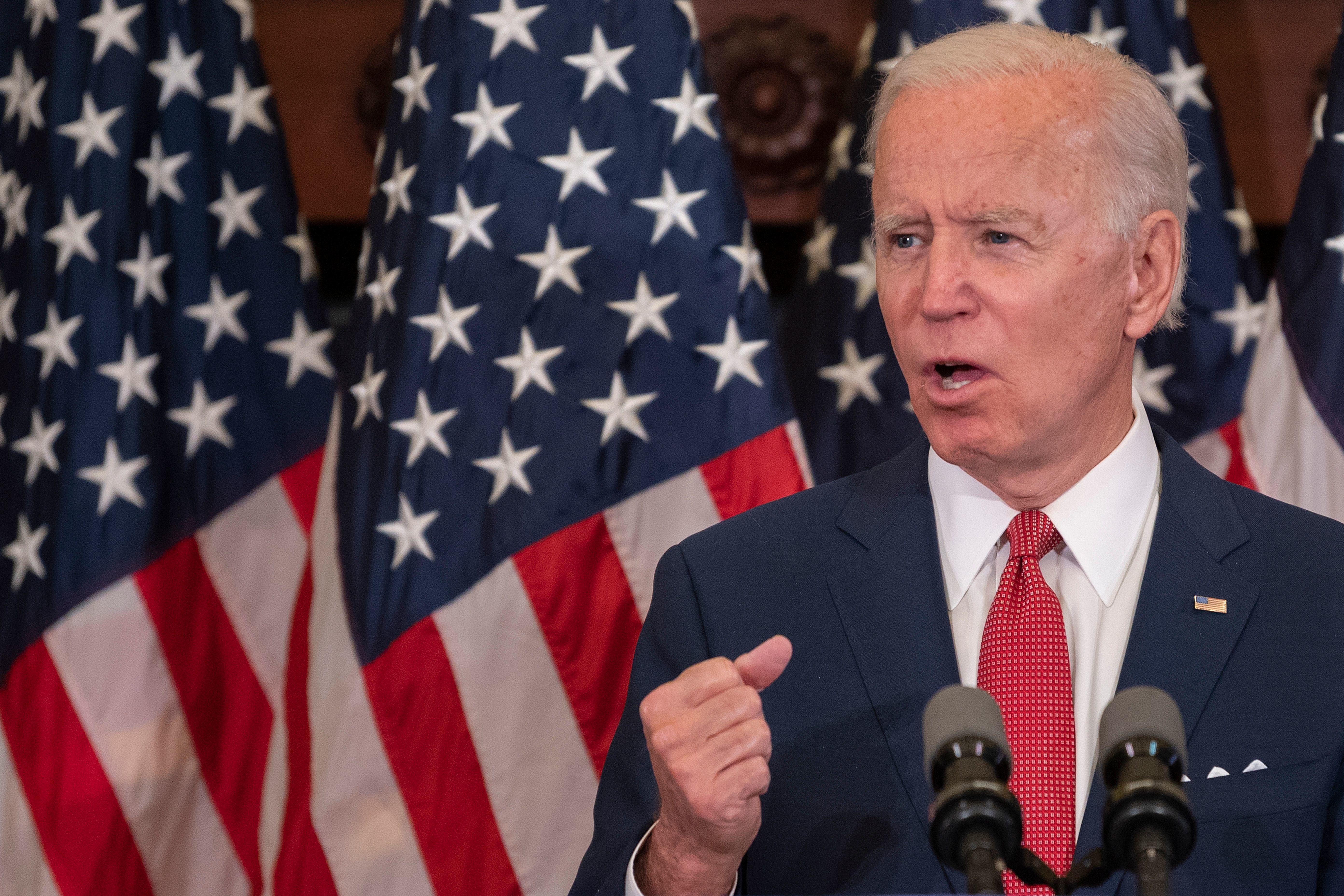 Joe Biden wins New York and Kentucky primaries