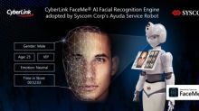 CyberLink's FaceMe® AI Facial Recognition Engine Integrated in Syscom's Ayuda Service Robot to Improve Customer Interactions
