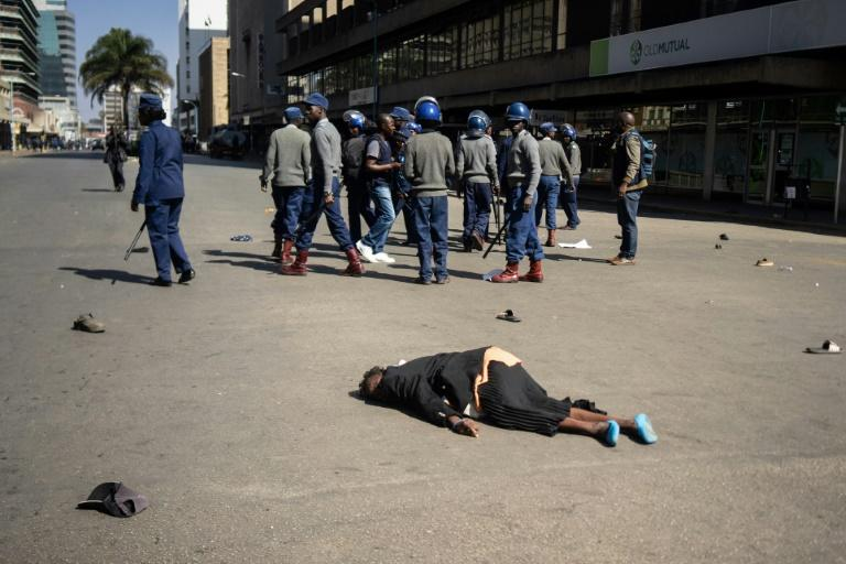 From covering police violence at Zimbabwe protests, journalists themselves have become targets