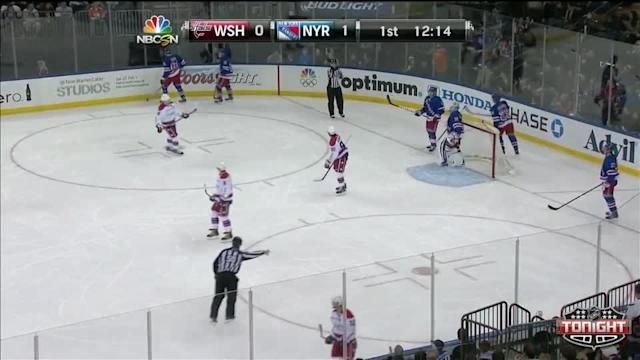 Washington Capitals at NY Rangers Rangers - 01/19/2014