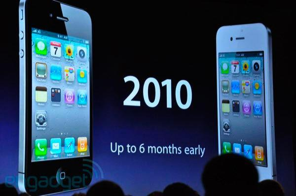 AT&T: upgrade to iPhone 4 up to six months early