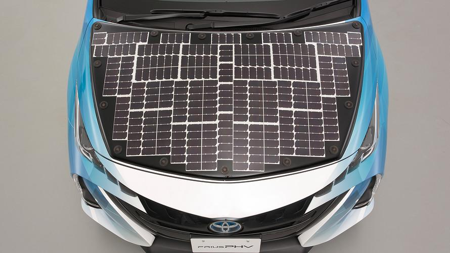 Toyota's Prius is testing a new solar look that could put it back in the lead for hybrid cars